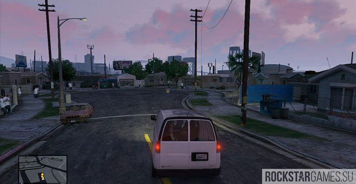 Сафари на районе - миссия GTA 5