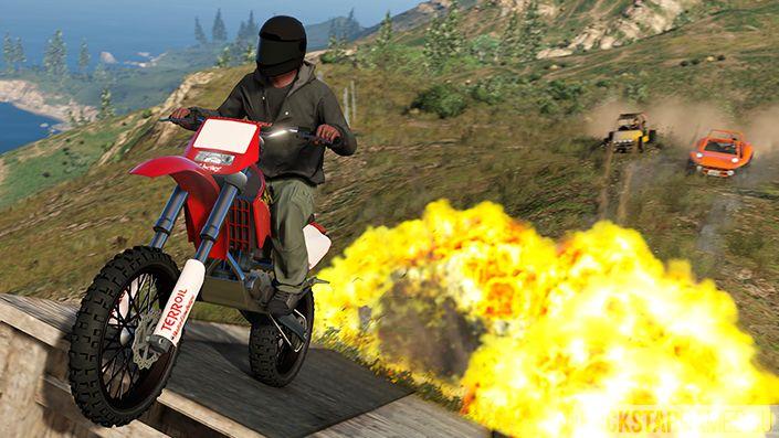 Опасные для здоровья заезды в GTA Online