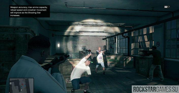 Стретч на свободе - миссия GTA 5