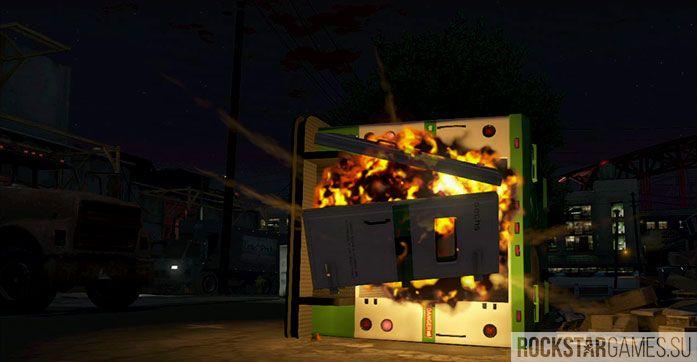 Блиц-игра - миссия GTA 5