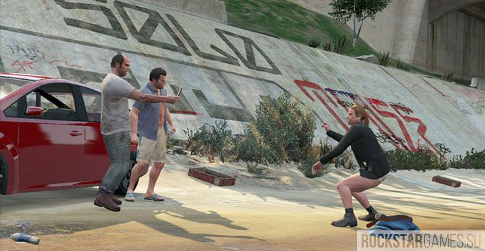 Стыд или слава - миссия GTA 5
