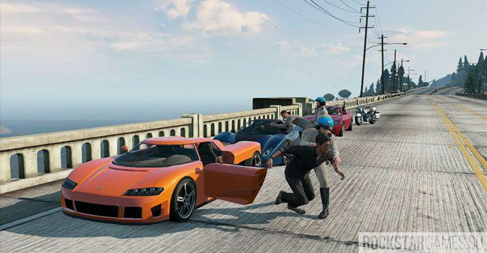 Война с законом - миссия GTA 5