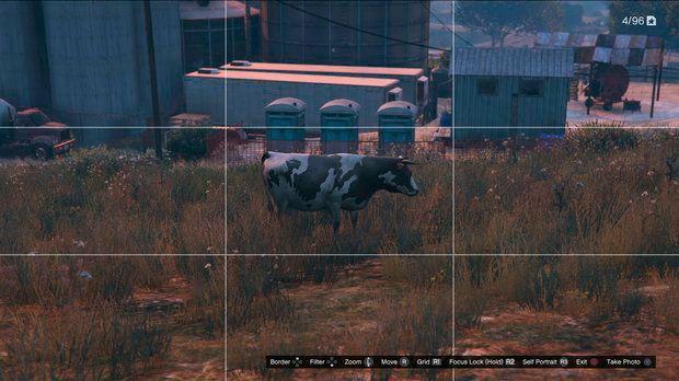 Корова в GTA 5