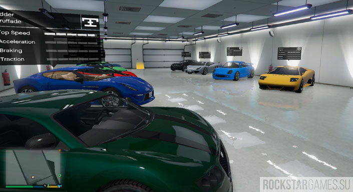 Single Player Garage гараж в GTA 5