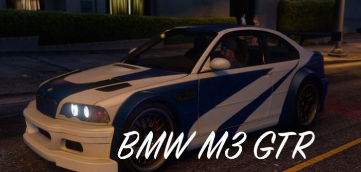 GTA 5 BMW M3 GTR