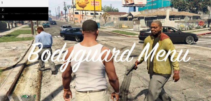 gta 5 мод bodyguard menu