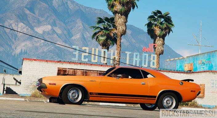 Dodge Challenger мод для GTA 5
