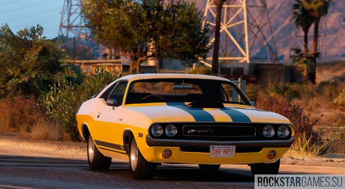 Dodge Challenger в GTA V