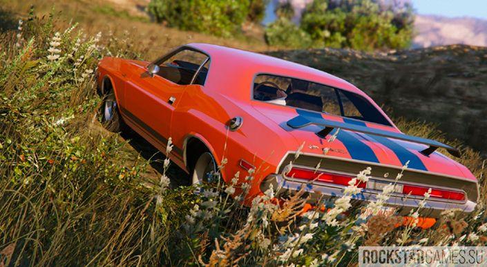 Dodge Challenger mod for GTA 5