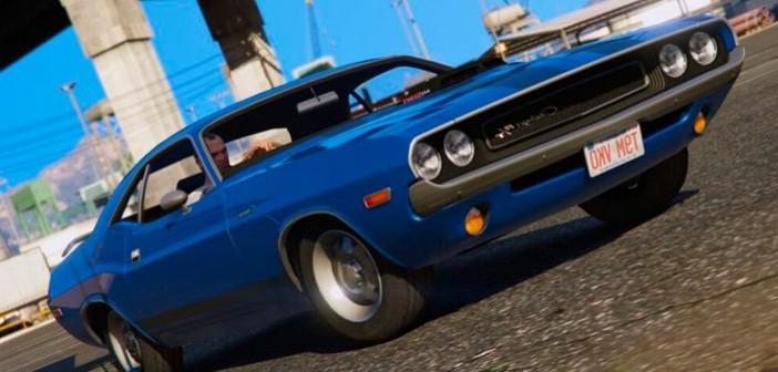 Dodge Challenger мод для ГТА 5