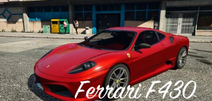 Ferrari F430 для ГТА 5