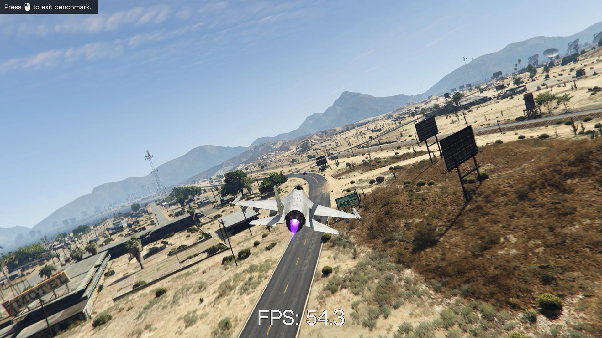 Подгрузка более детализированных текстур во время полета GTA 5