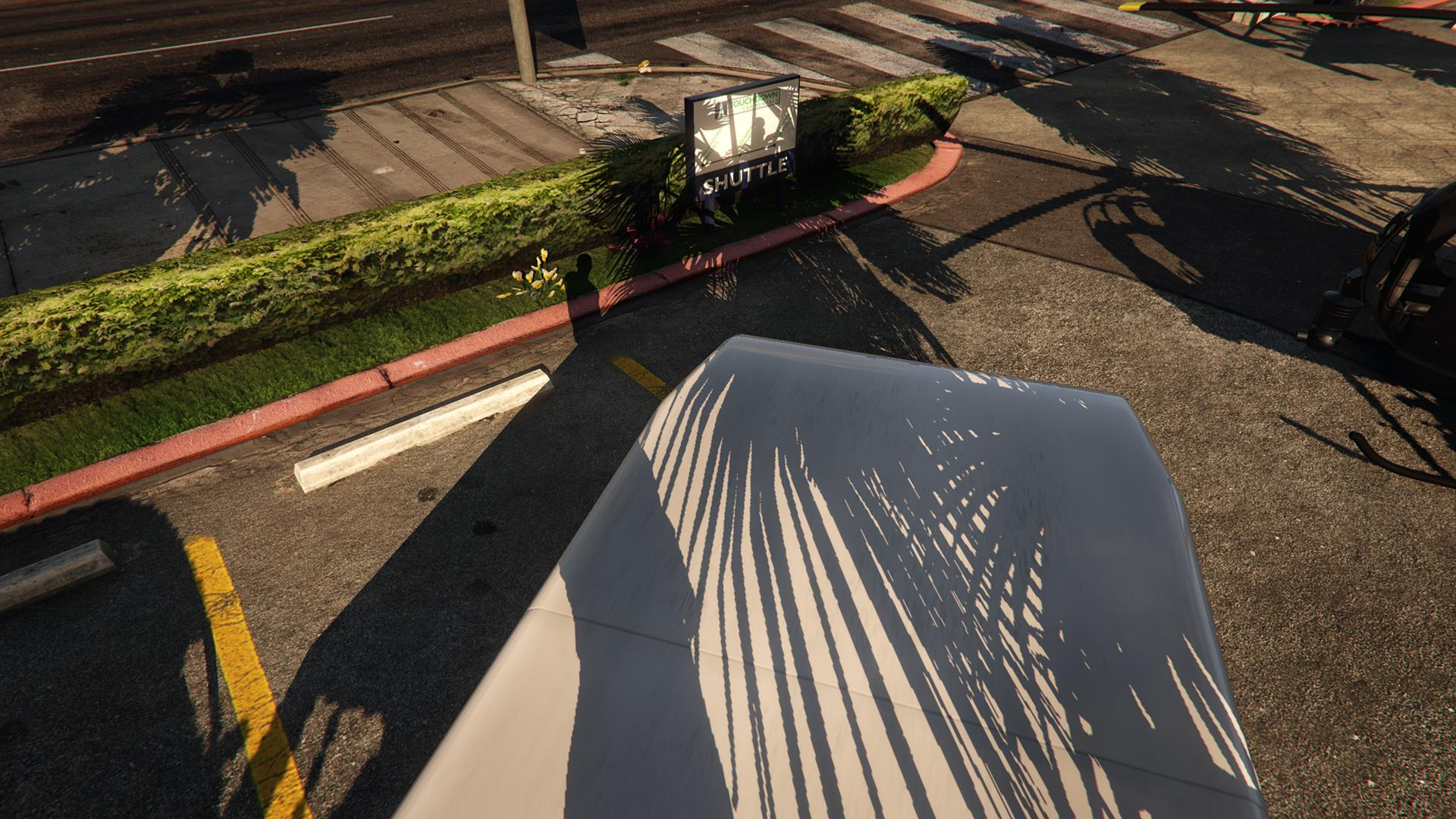 Тени высокого разрешения GTA 5