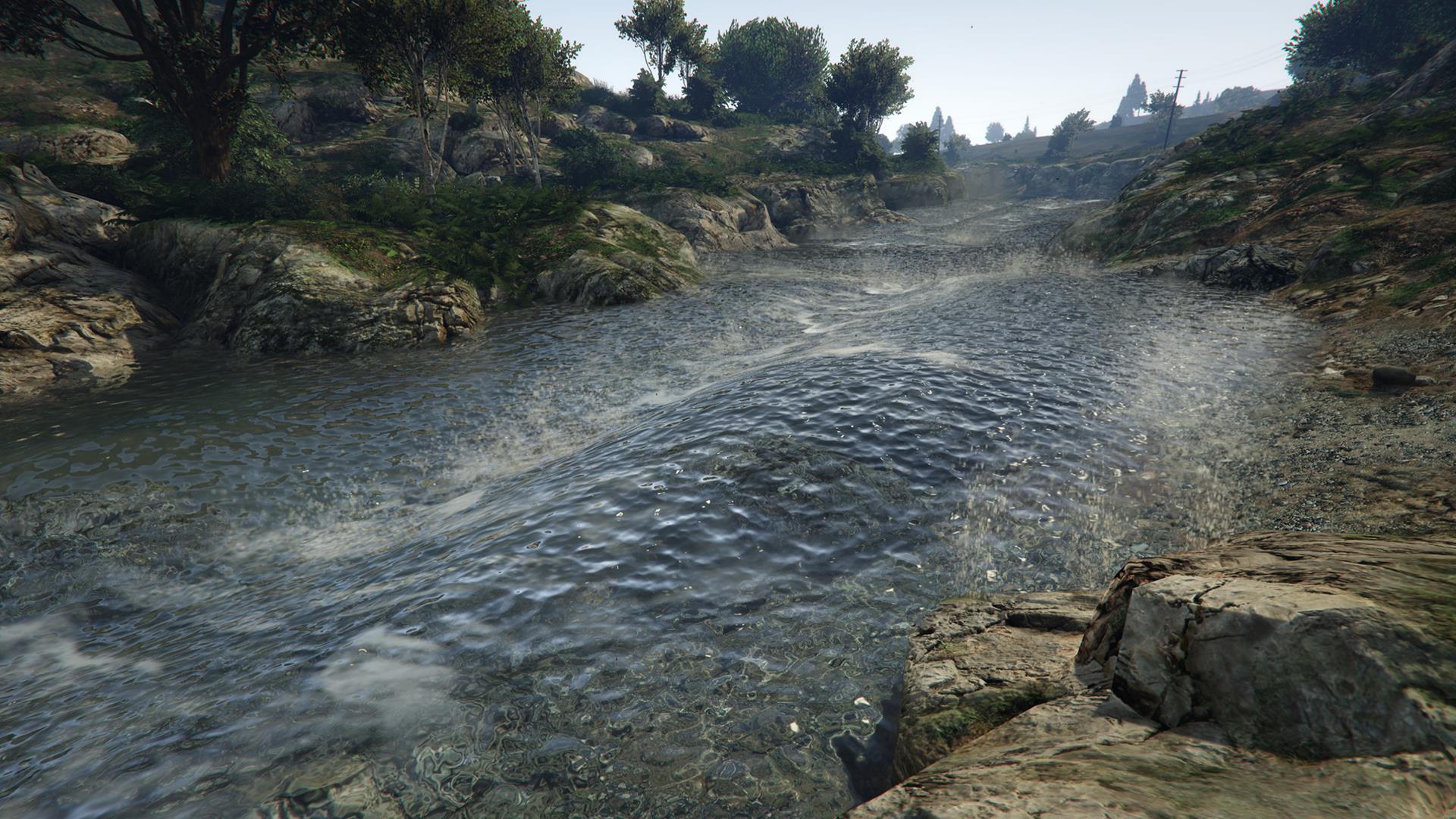 Качество воды GTA 5