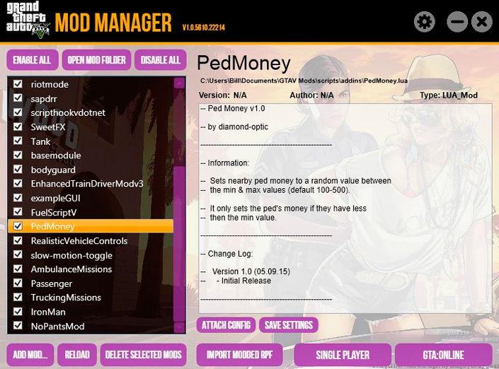 GTAV Mod Manager