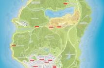 карта магазинов одежды в ГТА 5