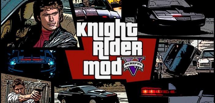 Knight Rider — мод рыцаря дорог для GTA 5