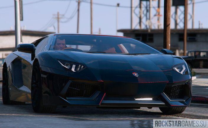 Lamborghini Aventador мод для GTA 5