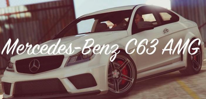 Мод Mercedes-Benz C63 ГТА 5