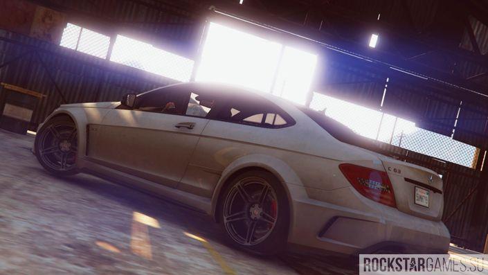 Мод Mercedes-Benz C63 GTA 5