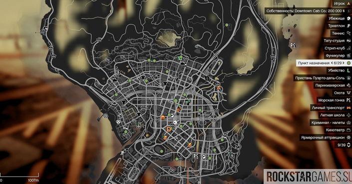 Карта для Open All Interiors