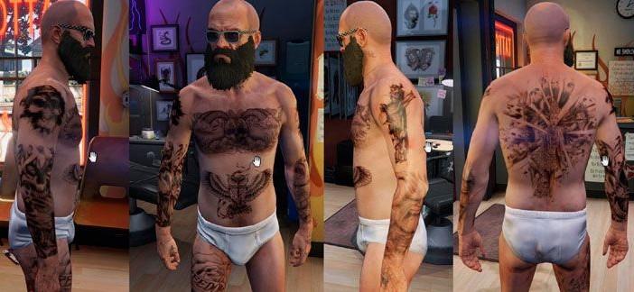 Мод татуировки — GTA 5