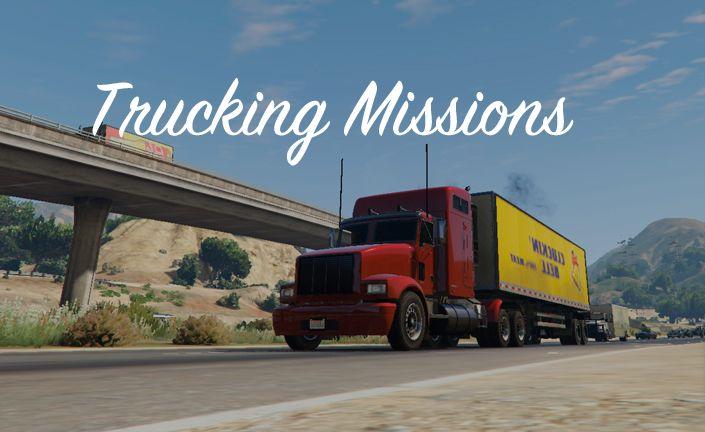 GTA 5 Trucking Missions