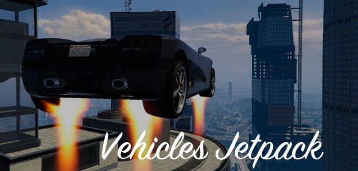Jetpack for vehicles GTA 5