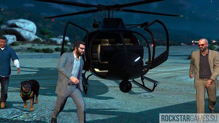 Хищник - миссия GTA 5
