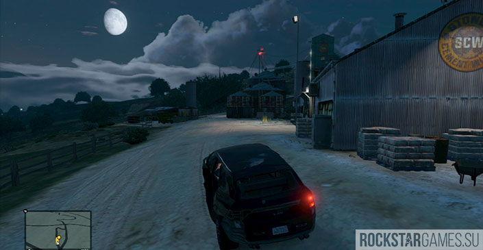 Свободное падение - миссия GTA 5