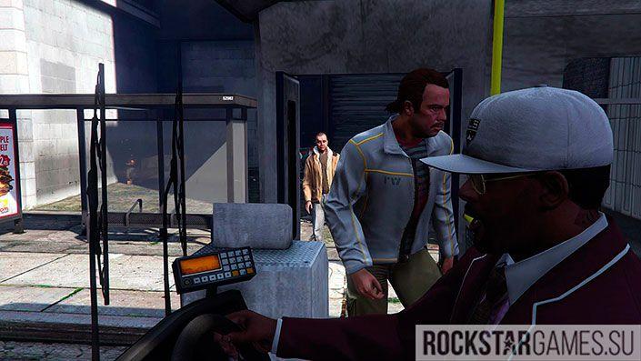 Убийство - Автобус - миссия в GTA 5