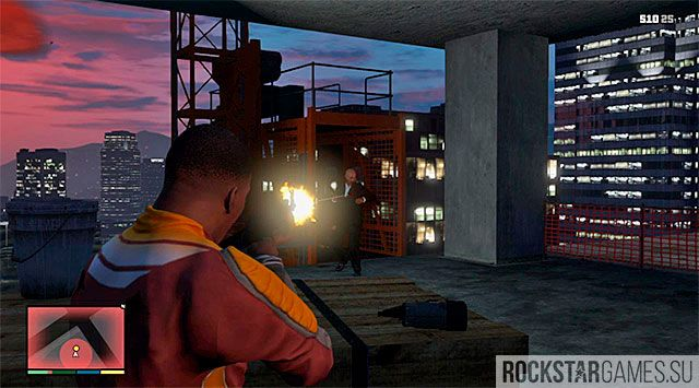 Убийство - Стройка - миссия GTA 5