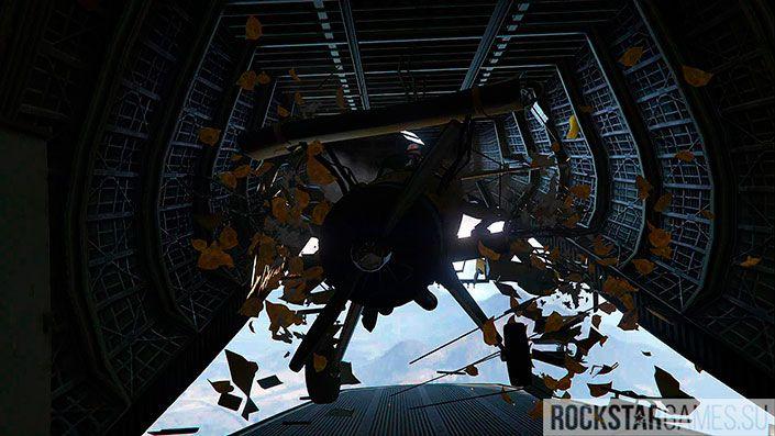 Турбулентность - миссия GTA 5