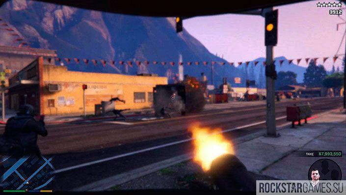 Ограбление в Палето - миссия GTA 5