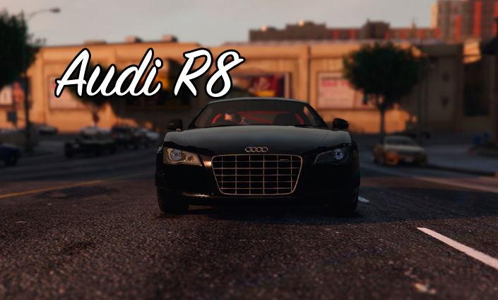 Мод Audi R8 для GTA V