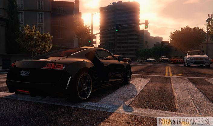 Audi R8 в ГТА 5