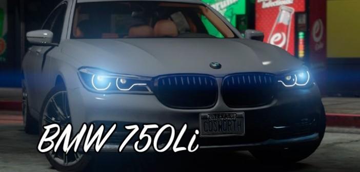 BMW 750Li мод для GTA 5