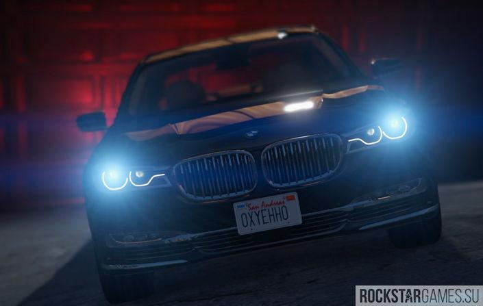 BMW 750Li для ГТА 5