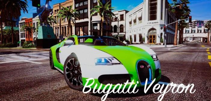 Мод Bugatti Veyron для GTA 5