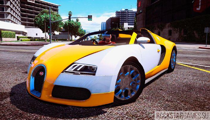 Bugatti Veyron для GTA 5