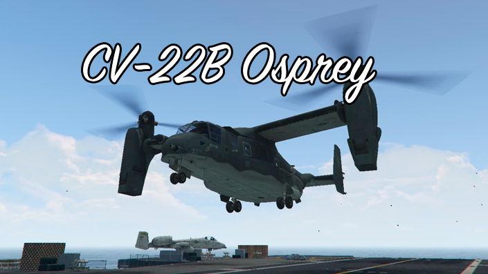 CV-22B Osprey для GTA 5