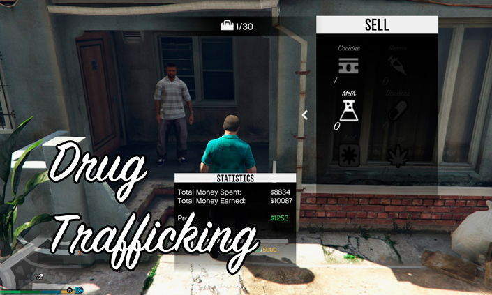 Drug Trafficking мод для GTA 5
