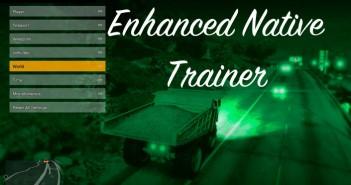 Enhanced Native Trainer GTA 5