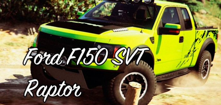 Мод Ford F150 SVT Raptor для GTA 5