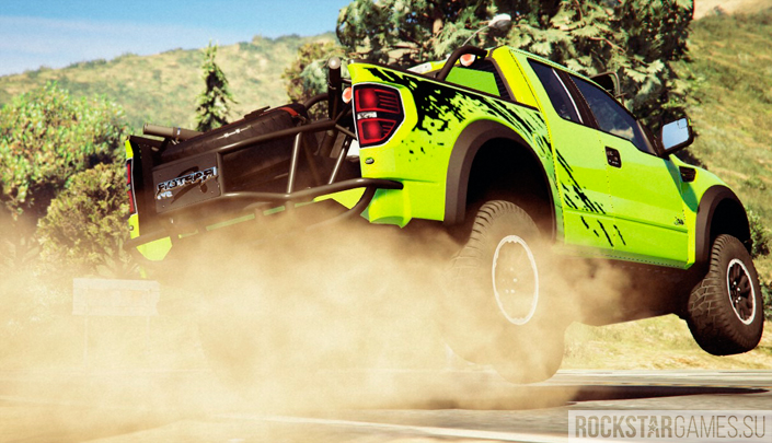 Ford F150 SVT Raptor для ГТА 5