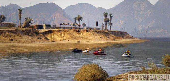 гонки на воде в GTA 5