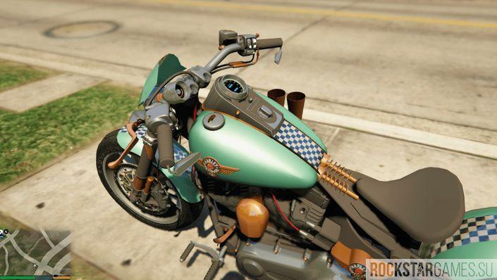 Скачать мод Harley Davidson для GTA 5