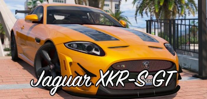 Jaguar XKR-S GT в GTA 5