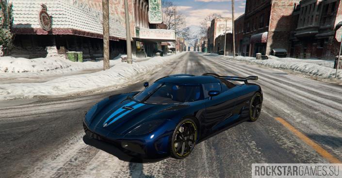 Koenigsegg Agera мод для GTA 5