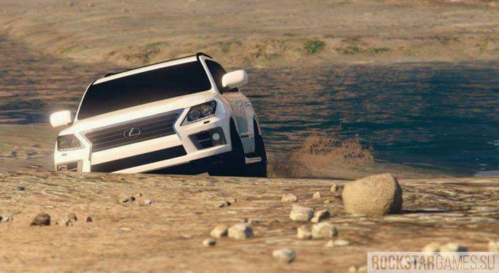 Мод Lexus LX 570 для GTA 5